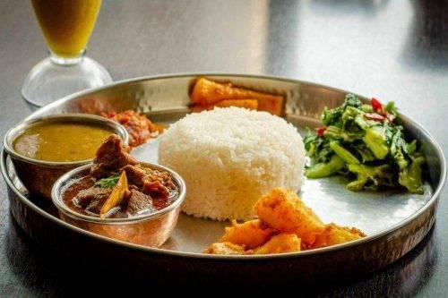 Himalayan Thali Specials -Nepali Style Mutton Thali - Himalayan Kitchen