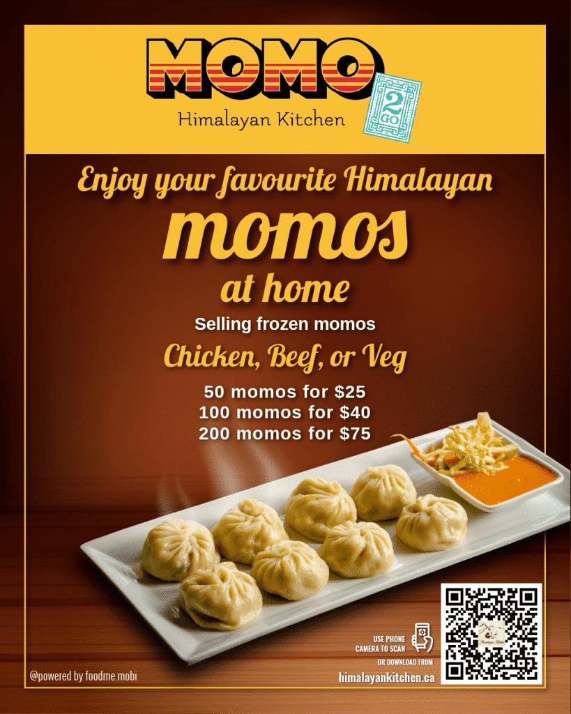 Momos Barcode - Himalayan Kitchen