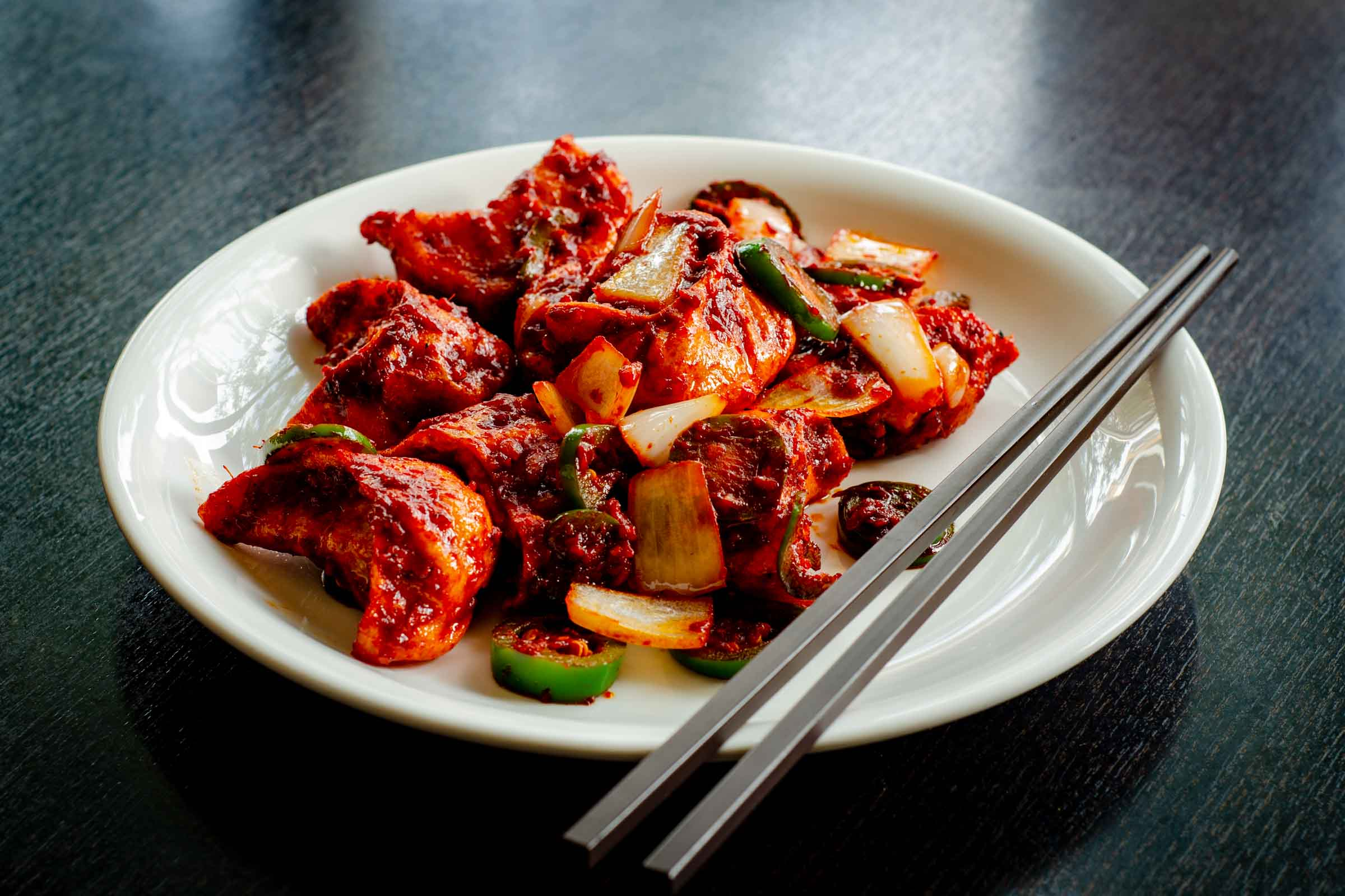 Crispy Chilli Momo - Himalayan Kitchen